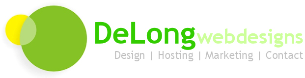 DeLong Web Design include website design, website hosting, website marketing & website promotion